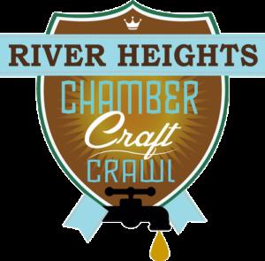 River Heights Chamber Crawl Logo