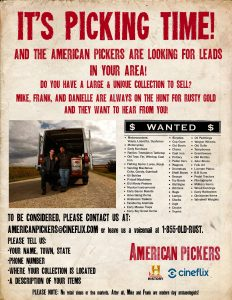 American Pickers Flyer