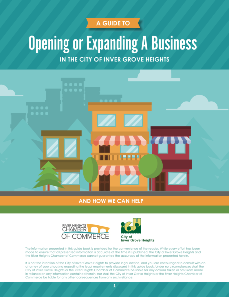 A guide to opening or expanding a business in the City of Inver Grove Heights, MN